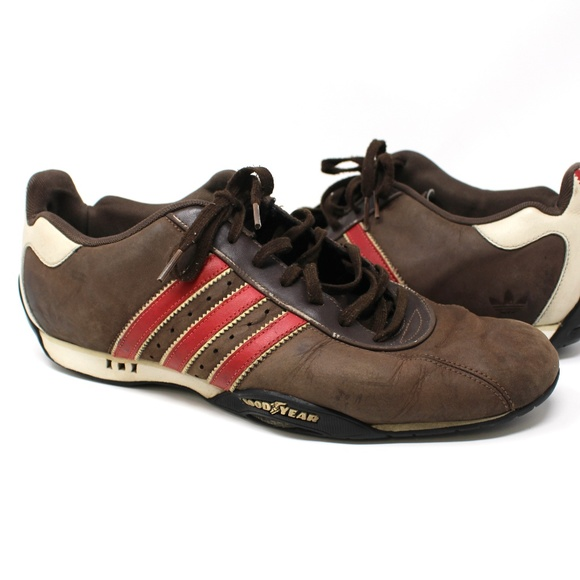 Team Adidas Goodyear Low Adi Racing Driving Shoes
